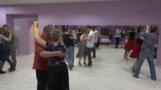 Практика танго в школе TangoCity Москва 12 апреля 2015
