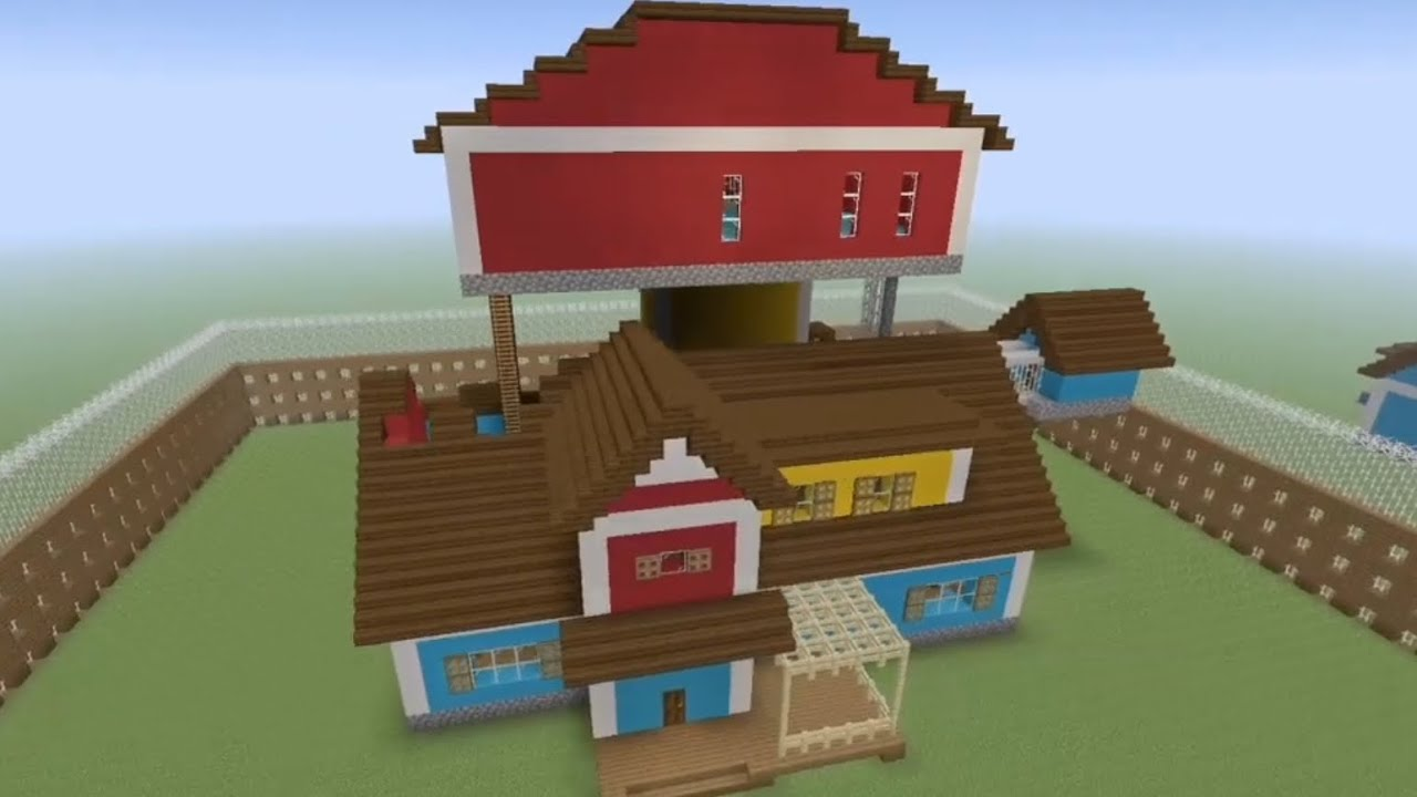 How To Build Hello Neighbor Act 2 In Minecraft Ep 1 Youtube