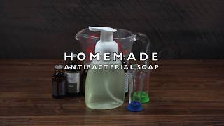 How to Make All Natural Antibacterial Soap