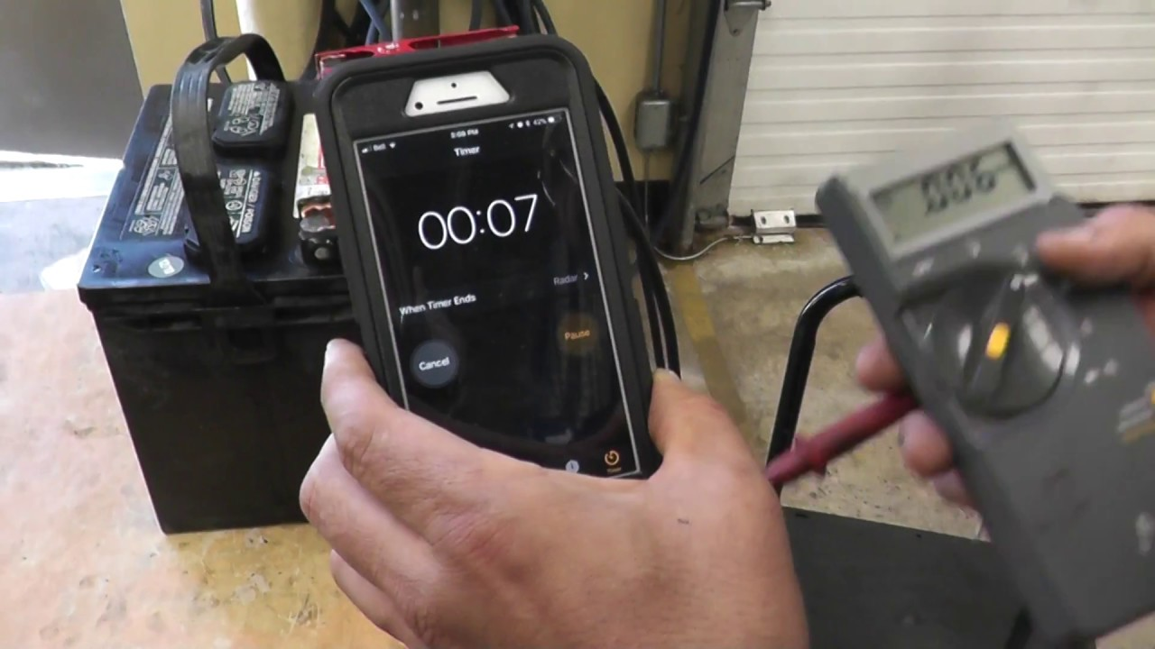 3 Minute High Charge Battery Test