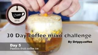 Gambar cover Day5 :passion fruit coffee ice