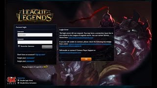 League of legends did not receive a response from server 1, 2, 3 (Fix)