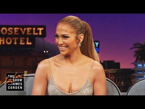"Jennifer Lopez Recalls the ""Boo Boo"" Carpool Karaoke Text"