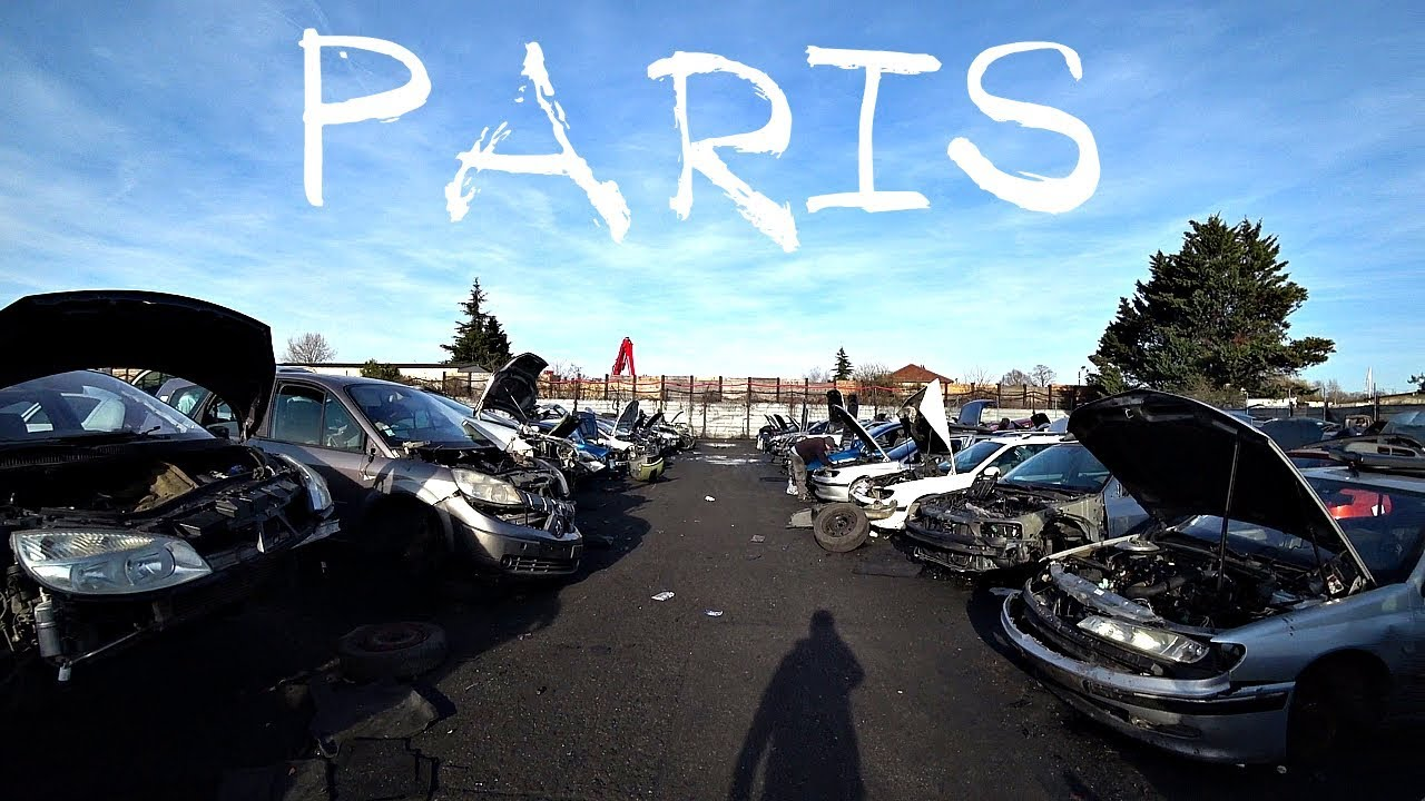 Авторазборка в Париже #Париж #Авторынок #Авторазборка