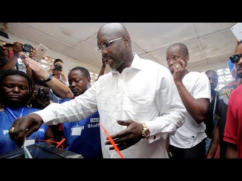 George Weah elected president of Liberia