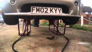 Homemade hydraulic car ramp lift tvr