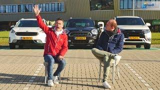 ANWB Triotest Kia Niro, Mini Countryman & Mitsubishi Outlander PHEV 2018 (GOEDKOPER MET STEKKER?)