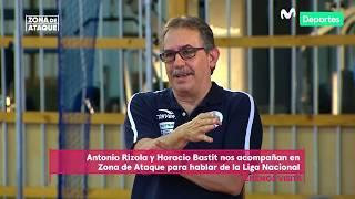 Zona de Ataque: Basti yRizola hablan de infraestructura y las bases de la Liga Nacional de Vóley