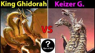 King Ghidorah(2019) vs Keizer Ghidorah, con nào sẽ thắng #75| Bạn Có Biết?