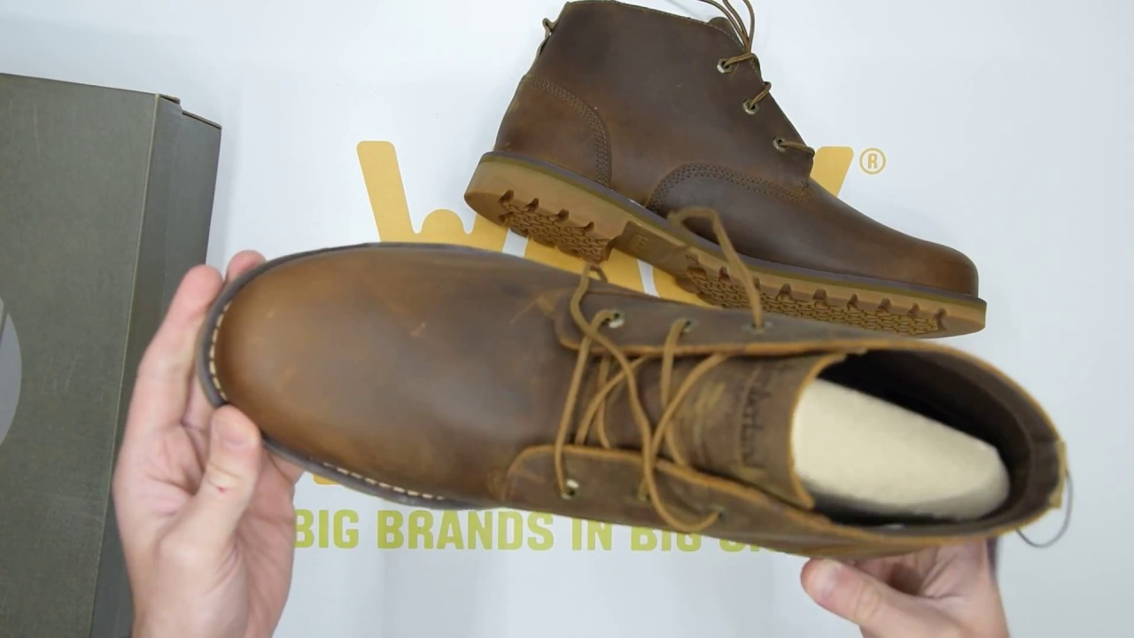 e2893014ba7 Timberland Larchmont Chukka - Medium Brown - Unboxing | Walktall