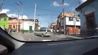 Bogota, Calle 5a. La antigua Calle del cartucho.  Calle peligrosa