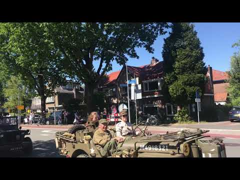 Army Parade Liberation Day -2018, Hilversum - Netherlands