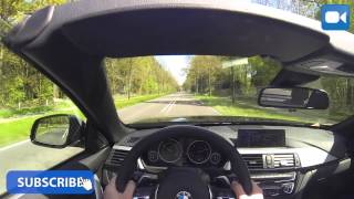 POV BMW 435i M-Pack Convertible GREAT! OnBoard Drive & Sound