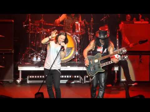 "Slash & Myles Kennedy, ""Anastasia"", Hard Rock, Van, Aug./14"