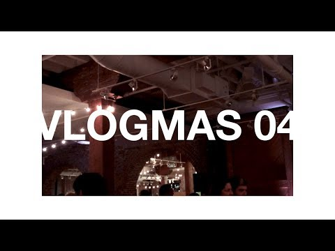 Holiday party anxiety | VLOGMAS 05