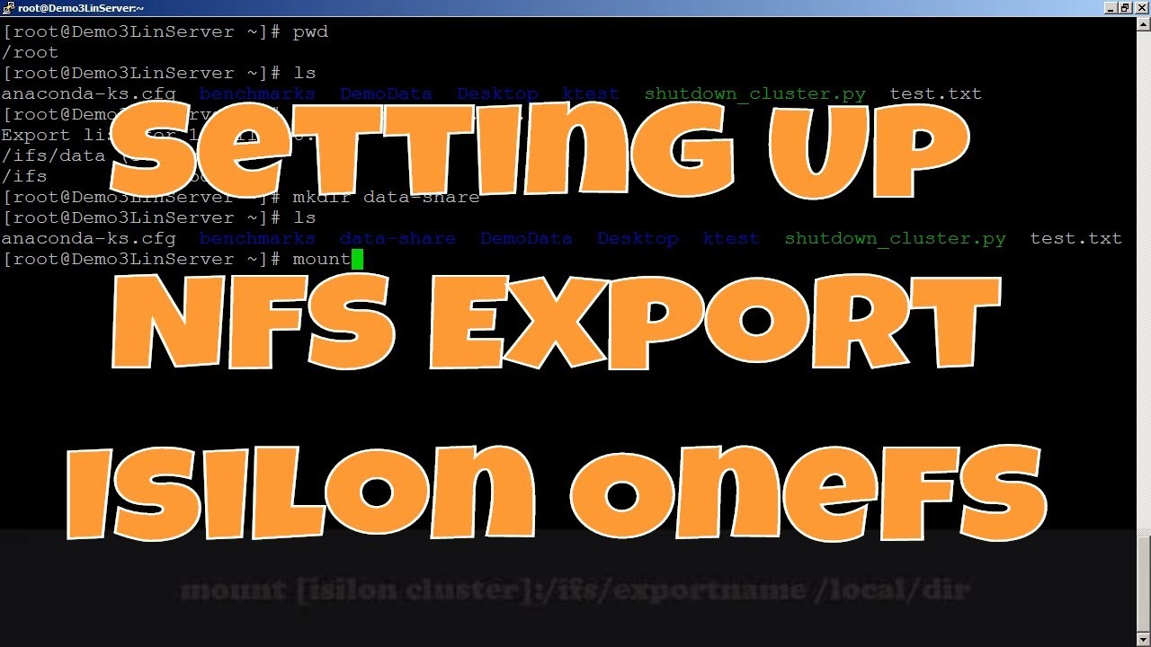 Isilon Quick Tips: Setting Up NFS Export in OneFS - Thomas