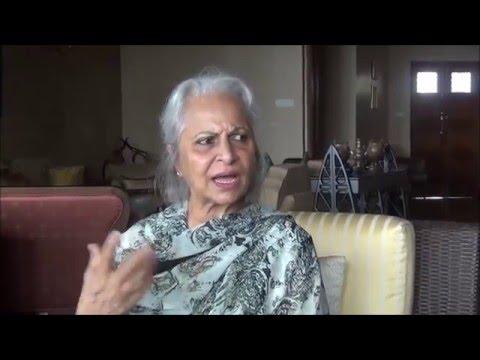 Waheeda Rehman on S.D. Burman Dada (Part One)