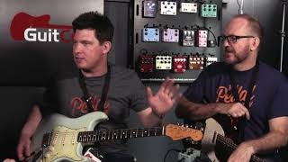 Dan & Mick from That Pedal Show try out Quintessence Harmony for the first time