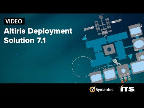 Altiris Deployment Solution 7.1. Yes it works!