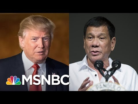 President Trump Blurts Classified Submarine Intel To Philippine President | Rachel Maddow | MSNBC