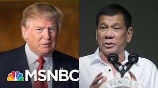 President Trump Blurts Classified Submarine Intel To Philippine President | Rachel Maddow | MSNBC