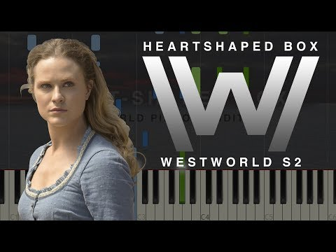 Westworld Season 2 - Heart Shaped Box | Piano Tutorial (Synthesia)