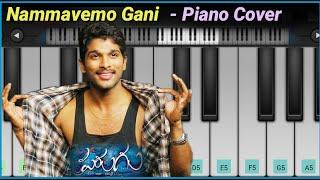 Nammavemo gani Song ( Parugu ) - Piano Cover    Allu Arjun    Bb Entertainment Piano