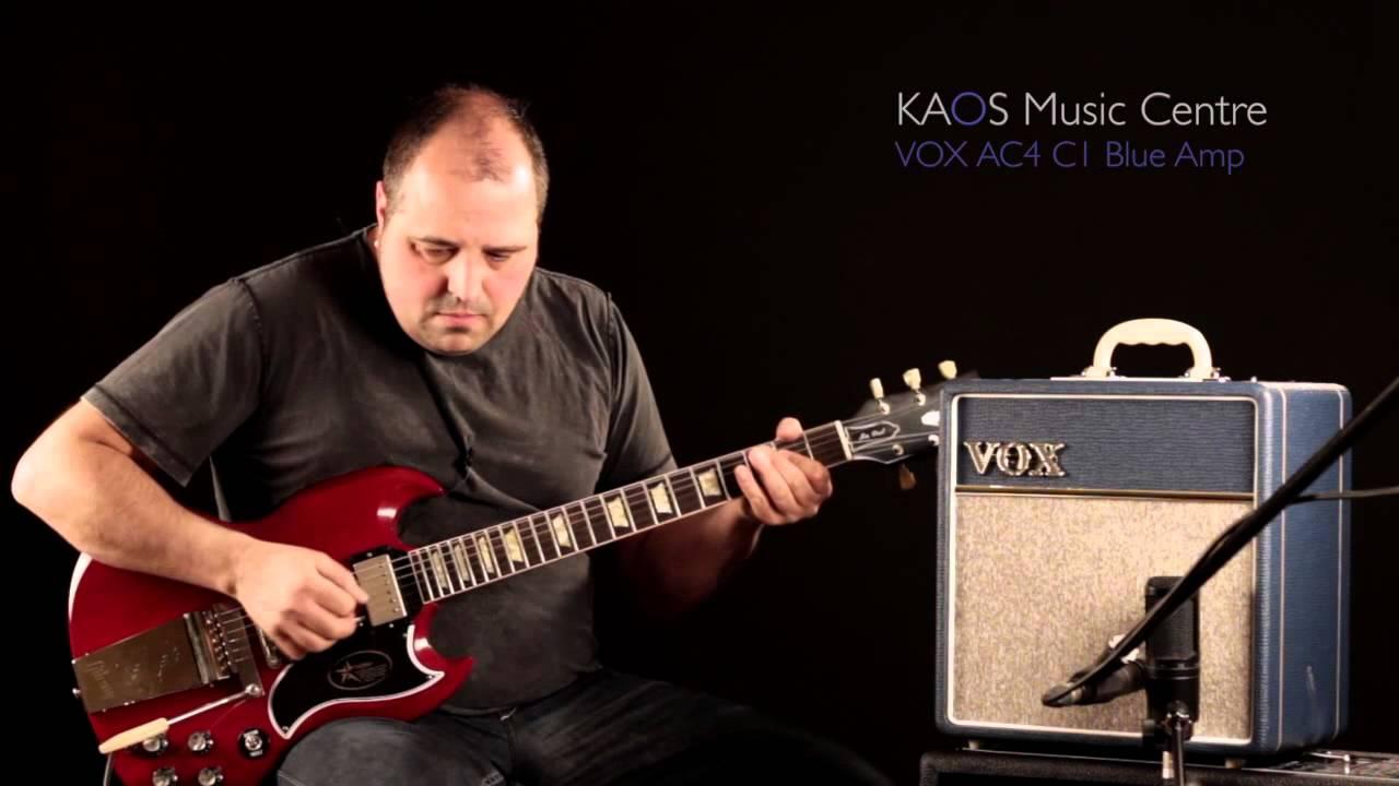 kaos gear demo vox ac4c1 bl amplifier youtube. Black Bedroom Furniture Sets. Home Design Ideas