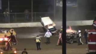Grays Harbor Raceway | JJ Hickle Sprint Car Crash