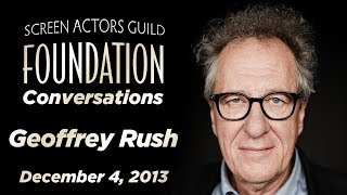 Conversations with Geoffrey Rush