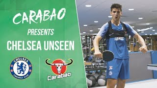 Morata Destroys Zappacosta at Table Tennis | Chelsea Unseen