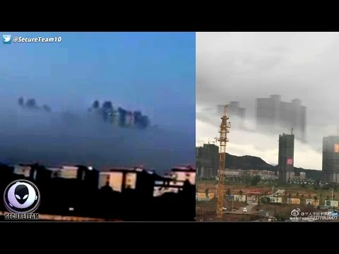 "Floating ""Ghost City"" Appears AGAIN Over China Skies? 1/18/17"