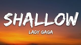 Gambar cover Lady Gaga, Bradley Cooper - Shallow (Lyrics) (A Star Is Born Soundtrack)
