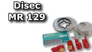 Disec MR129 - магнитная броненакладка с антивандальными свойствами(Свойства и функции защитной антивандальной магнитной броненакладки Disec модели MR129 на цилиндровый механизм...., 2016-04-21T17:45:30.000Z)