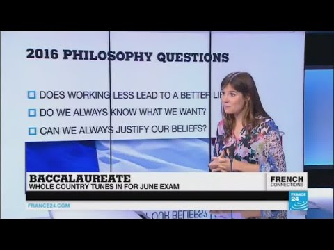 Baccalaureate: The hardest high school exam in the world?