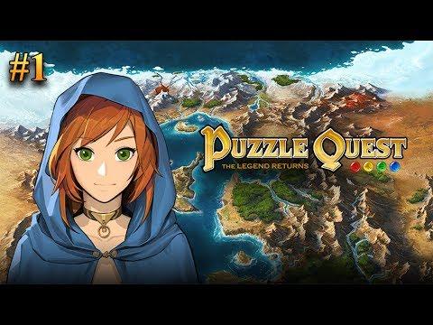 Puzzle Quest - прохождение #1 (Паладин)