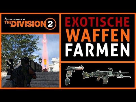 Division 2 exotische waffen