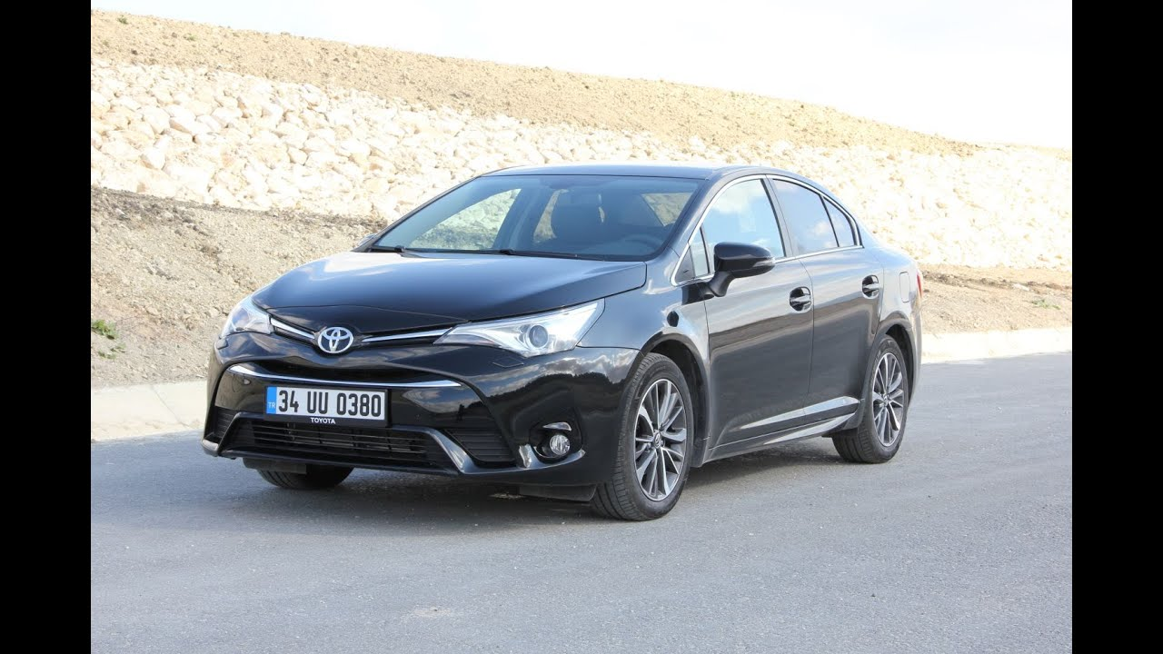 toyota avensis 1 6 dizel test s r yorum inceleme youtube. Black Bedroom Furniture Sets. Home Design Ideas
