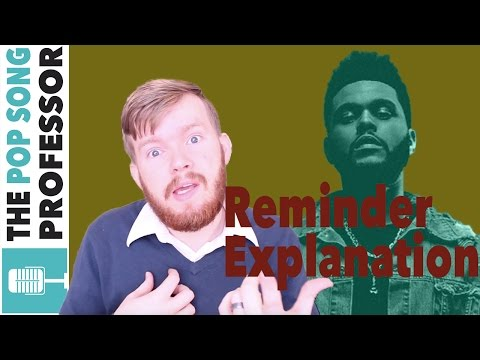 The Weeknd - Reminder   Song Lyrics Meaning Explanation Poster