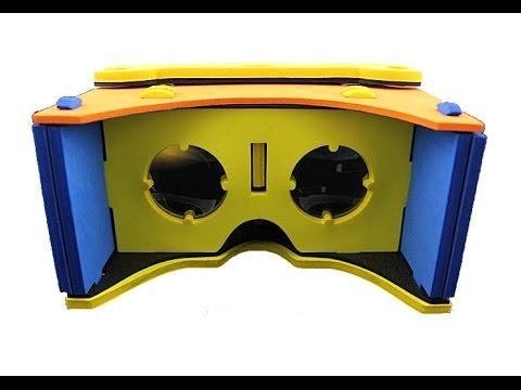 EVA 3D Virtual Reality Headset Smartphone Google Cardboard I/O Android