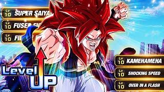 THE UNDISPUTED KING! LEVEL 10 LINKS 100% RAINBOW STAR INT SSJ4 GOGETA! (DBZ: Dokkan Battle)