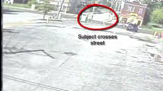 Surveillance video of officer-involved shooting at Union and Wabada
