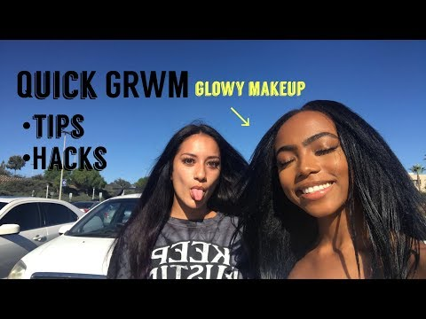 GRWM: GLOWY EVERYDAY MAKEUP | Beauty School Makeup
