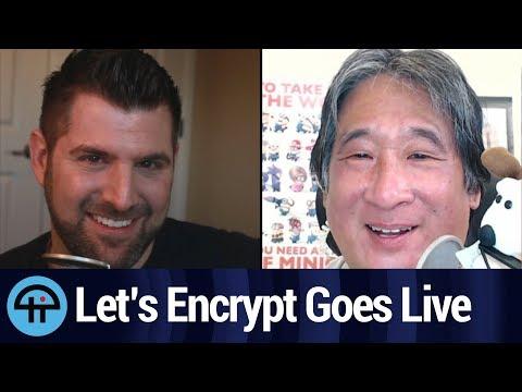 Let's Encrypt Goes Live