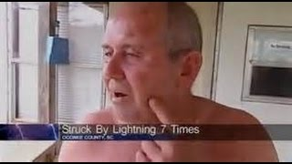A MIRACLE! Man Struck By Lightning 7 Times Walks Away! Guinness Book Record! What Are The Odds?
