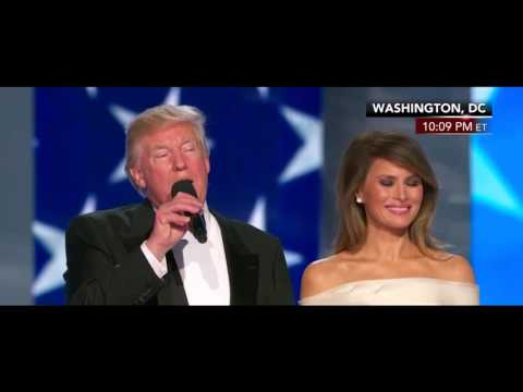Liberty Ball 2 Intro President Donald Trump First Lady Melania Trump - Presidential Inauguration