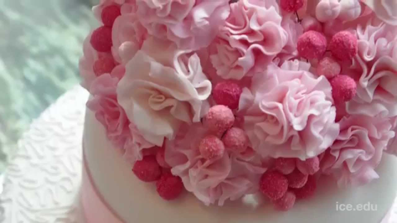 Professional Cake Decorating Program Techniques At Ice Youtube