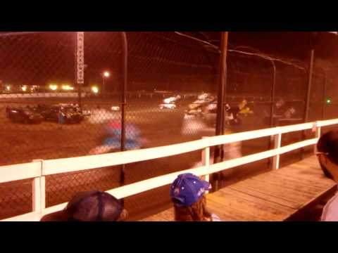 Arctic Cat All Stars sprint cars at Macon Speedway