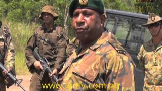 Exercise Wantok Warrior: Test of PNGDF Security