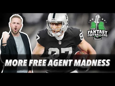 Fantasy Football 2018 - More Free Agent Madness, Key Questions for 2018 - Ep. #532